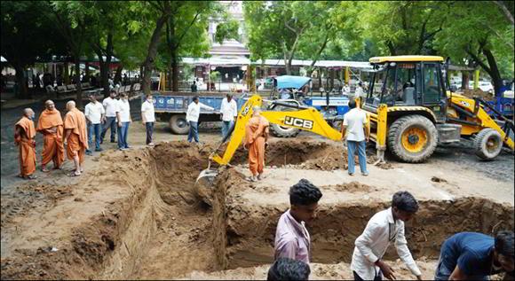 હરિપ્રસાદ સ્વામીજી મહારાજની અંત્યેષ્ટિના સ્થાને ભવ્ય સમાધિ મંદિર બનાવાશે