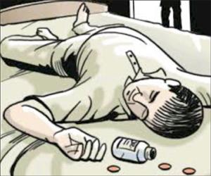 લાછરસ ગામે યુવાને કોઈ અગમ્ય કારણોસર ઝેરી દવા પિતા સારવાર દરમિયાન મોત થયું