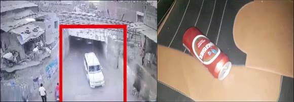 બોડેલીમાં બેફામ કારે બે બાઈક અને એક રિક્ષાને અડફેટે લીધા :પોલીસ ફિલ્મીઢબે કર્યો પીછો :બિયરનું ટીન મળ્યું