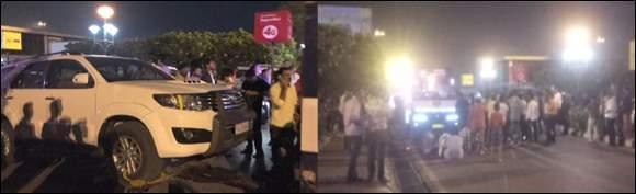 પશ્ચિમ બંગાળની દાઝ ગુજરાતમાં ઉતારી:અમદાવાદ એરપોર્ટ ઉપર  ઋત્વિક પટેલની પોલીસ સાથે માથાકૂટ:ઉગ્ર બોલાચાલી