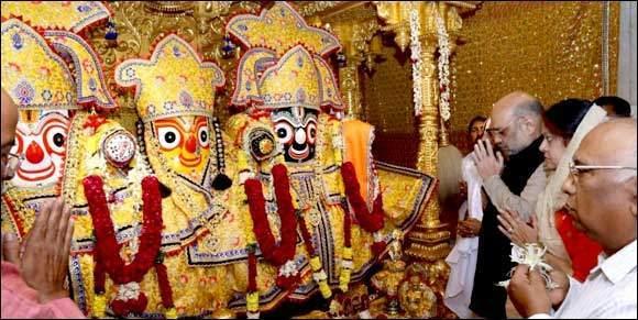 અમિત શાહ રથયાત્રા પ્રસંગે જગન્નાથ મંદિરમાં મંગળા આરતી કરશે