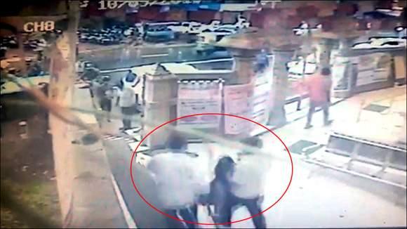 અમદાવાદના જૈન દેરાસરમાંથી ખુલ્લેઆમ યુવતિનું અપહરણઃ કારમાં બેસાડીને અપહરણકાર નાસી છૂટ્યો