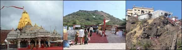 અંબાજી, ચોટીલા, પાવાગઢ સહિતના મંદિરોમાં ઘોડાપૂર