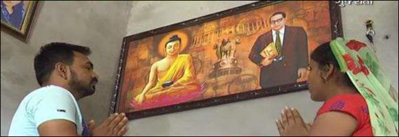 દશેરાના પર્વે અનુસૂચિત જાતિના 563 લોકોએ કર્યું ધર્મ પરિવર્તન :બૌદ્ધ ધર્મનો કર્યો અંગીકાર