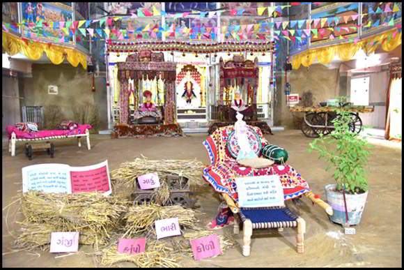 કુમકુમ મંદિરે ભગવાન સ્વામીનારાયણના ૨૧૮માં પટ્ટાભિષેક દિનની ઉજવણી