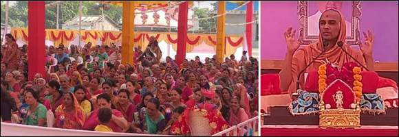 શ્રી સ્વામિનારાયણ મંદિર બહેનોનુ વિરમગામ પંચ દશાબ્દી પાટોત્સવ શ્રીમદ સત્સંગી જીવન પંચાહ પારાયણનો પ્રારંભ