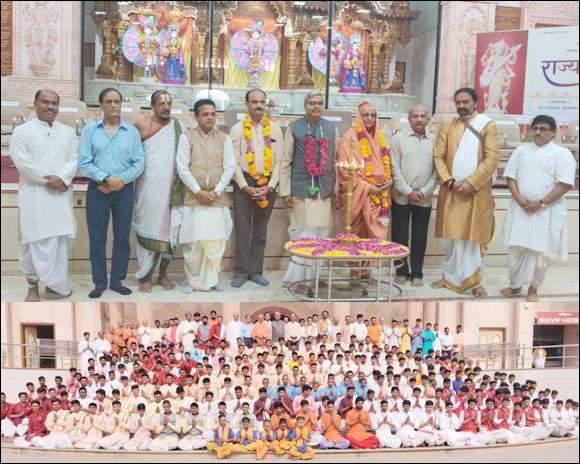 આ ભારત ભૂમિ ફળદાયી છે, જ્યાં ભગવાન શ્રીદત્તાત્રેય, ભગવાન શ્રીરામ અને ભગવાન શ્રી કૃષ્ણ તેમજ ગાંધીજી અને વલ્લભભાઇ જેવા મહાન પુરુષોએ જન્મ ધારણ કરેલ છે.શા.માધવપ્રિયદાસજી સ્વામી