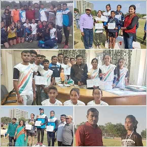 ગુજરાત યુનિવર્સિટીના 71માં વાર્ષિક ખેલકૂદ રમતોત્સવમાં વિરમગામ ડીસીએમ કોલેજના વિદ્યાર્થીઓ ઝળક્યા