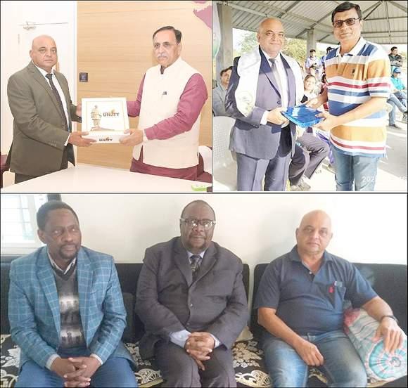 નર્મદા જિલ્લાના રાજપીપળાના વતની અને ઝીમ્બાબ્વેના ઉદ્યોગ અને વાણિજયમંત્રી રાજ મોદી ભારત મુલાકાતે