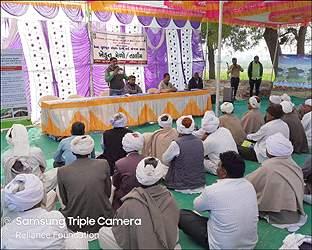 રાધનપુરના સુલ્તાનપુરામાં ખેડૂત મેળો અને સોઇલ હેલ્થ કાર્ડ યોજનાનું આયોજન