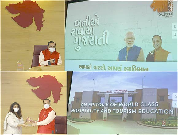 ગુજરાતનું પ્રવાસન-ટૂરિઝમ સેક્ટર સોળે કળાએ ખિલવી સર્વિસ સેક્ટરમાં વધુને વધુ રોજગારી આપતું સેક્ટર બનાવવું છે: મુખ્યમંત્રી વિજયભાઈ રૂપાણી