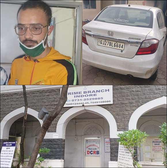 અમદાવાદથી અપહૃત સગીરાને ઇન્દોર ક્રાઇમ બ્રાન્ચે મુક્ત કરાવી :પોલીસ સગીરા અને આરોપીને લઈ ગુજરાત રવાના