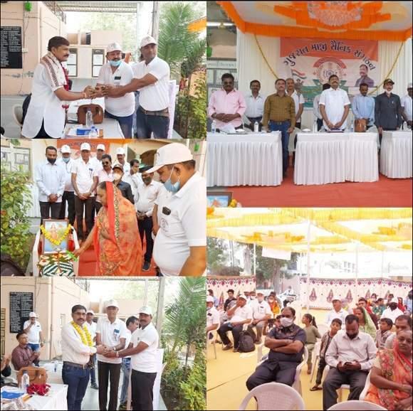 વિરમગામ શહેરમાં ગુજરાત માજી સૈનિક સંગઠનની બેઠક યોજાઇ