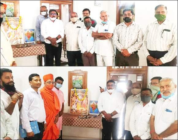 રાજપીપળામાં રામ જન્મભૂમિ નિધિ સમર્પણ અભિયાન હેઠળ નર્મદા જિલ્લા કાર્યાલયનો પ્રારંભ