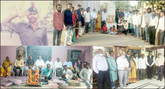 ભારતીય સેના દિન નિમિતે રાષ્ટ્રીય શાયર ઝવેરચંદ મેઘાણીના ૧૨૫મી જન્મજયંતિ વર્ષ અંતર્ગત 'શહીદ વંદના' કાર્યક્રમ યોજાયો