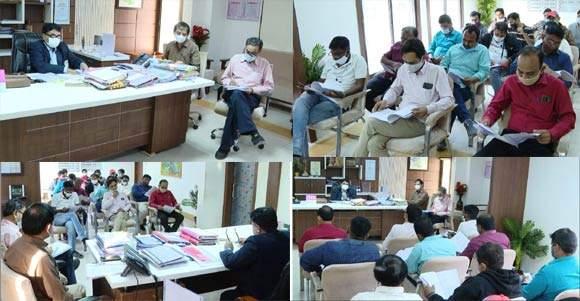 સ્થાનિક સ્વરાજ્યની ચૂંટણીઓને ધ્યાને લઇ જીલ્લા કલેકટર ડી.એ. શાહ સાથે પત્રકારોની બેઠક યોજાઈ
