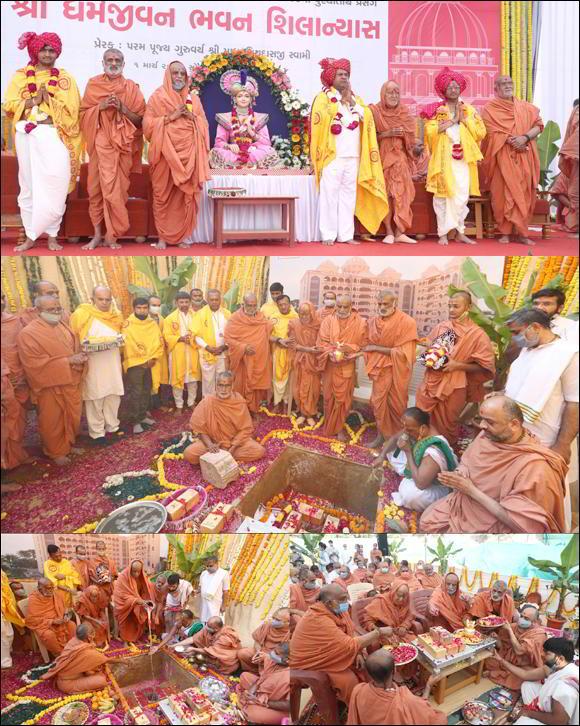 ગુરુદેવ શાસ્ત્રીજી મહારાજે ગુજરાતમાં પ્રથમ વાર ગુરુકુલની સ્થાપના કરી પ્રાચીન ગુરુકુલ શિક્ષા પદ્ધત્તિનો પુનરોદ્ધાર કર્યો છે : શા.માધવપ્રિયદાસજી સ્વામી