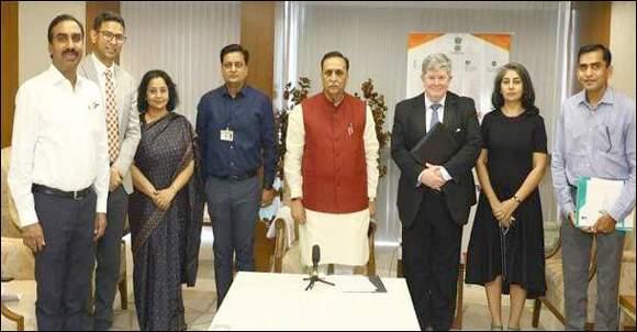 ગાંધીનગરમાં મુખ્યમંત્રીની ઉપસ્થિતીમાં ગુજરાત બાયોટેકનોલોજી યુનિવર્સિટી અને  વિશ્વખ્યાત યુનિવર્સિટી ઓફ એડિન બર્ગ વચ્ચે થયા મહત્વપૂર્ણ MOA