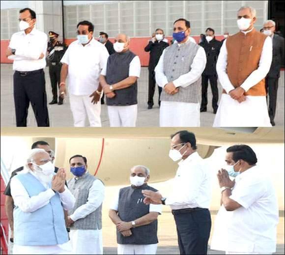 નરેન્દ્રભાઇ મોદી ગુજરાતની મુલાકાતે : સૈન્ય વડાઓની બેઠકમાં થશે સામેલ