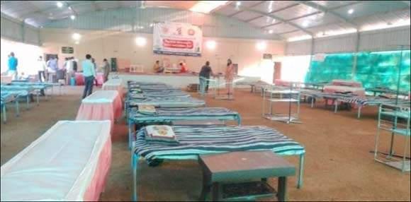ગુજરાતની પ્રથમ ગૌશાળા કોવિડ કેર સેન્ટર બન્યું : પંચગવ્યાયુર્વેદ પદ્ધતિથી કોરોના દર્દીઓની સારવાર