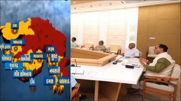 ગુજરાત સરકાર માટે હાલ અગિન્ પરીક્ષા જેવો કઠીન સમય : કોરોના મ્યુકોરમાઇકોસીસની બિમારી વચ્ચે તૌકેત વાવાઝાડાઍ આગમનની છડી પોકારી