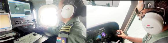 વાવાઝોડાના પગલે કોસ્ટ ગાર્ડ દ્વારા ડોનીયર એરક્રાફટ વિમાનની મદદથી ખંભાતના અખાતમાં દૂર સુધી ગયેલા માછીમારોને એલર્ટ કરાયા