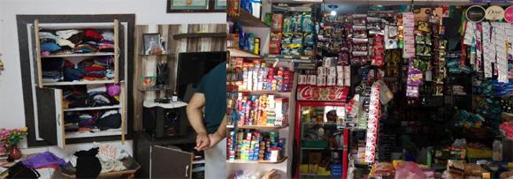 નાંદોદ તાલુકાના કરાઠા ગામની દુકાન તથા લાછરસ ગામના ઘરમાંથી  રૂ.54,400 ની ચોરી થતા ગ્રામજનોમાં ગભરાટ