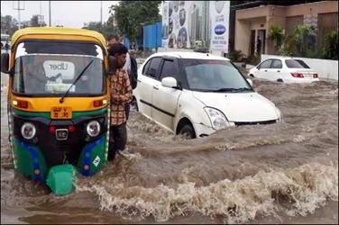 ગુજરાતમાં સિઝનનો ૩૪.૬૦ ટકા વરસાદ : ૩૦ મી સુધીમાં ભારેથી અતિભારે વરસાદની હવામાન ખાતાની આગાહી