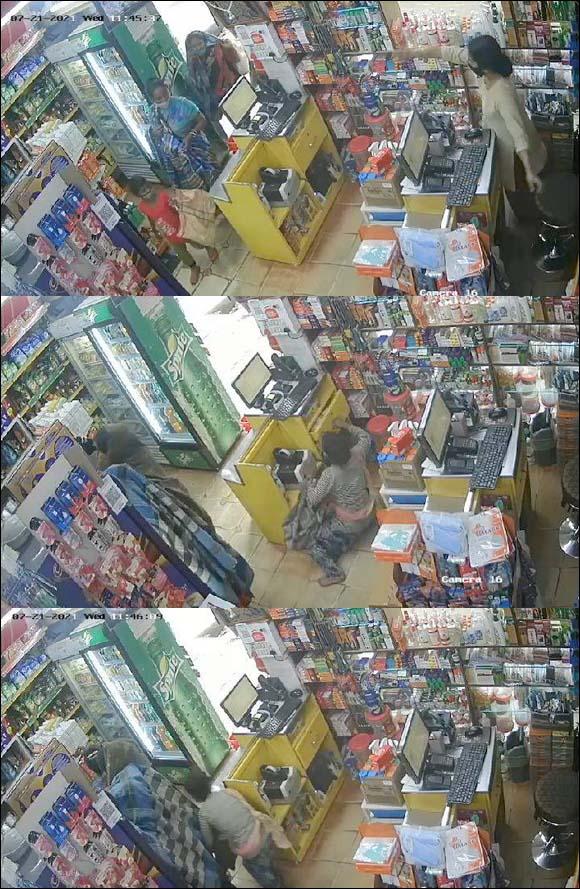 સાવધાન:વલસાડમાં વાતો વાતોમાં ત્રણ મહિલાઓએ દુકાનદારને વ્યસ્ત રાખ્યા, એક કિશોરી કાઉન્ટરમાંથી રોકડની કળા કરી ગઈ