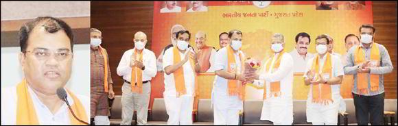ગુજરાતની પ્રજા અને ભાજપ કાર્યકરો દ્વારા રત્નાકરજીને ખૂબ સ્નેહ મળશે