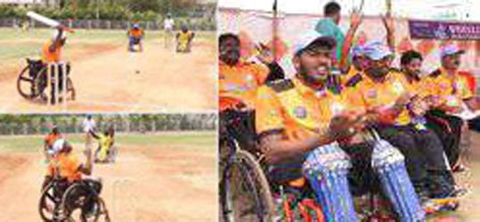 સુરતમાં દિવ્યાંગોની ક્રિકેટ ટુર્નામેન્ટ :મહારાષ્ટ્ર-ઉત્તરાખંડની ટીમો જોડાઈ