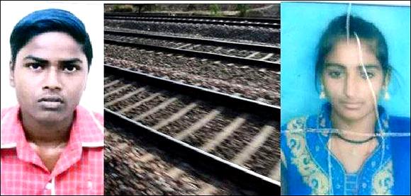 દાહોદ રેલવે સ્ટેશન પાસે ટ્રેન હેઠળ ઝંપલાવીને પ્રેમી પંખીડાનો આપઘાત
