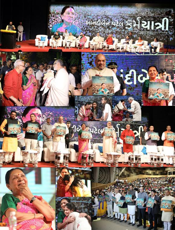 આનંદીબેન પટેલ : કર્મયાત્રી - ગુજરાતના પ્રથમ મહિલા મુખ્યમંત્રીની સિધ્ધીઓની પ્રેરકયાત્રા
