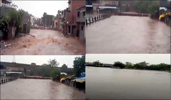 ગુજરાતમાં ભારે વરસાદથી મૃત્યુઆંક 19 : રાજ્યના  118 તાલુકાઓમાં 2 થી 4 ઈંચ વરસાદ : 900 લોકોનું સ્થળાંતર