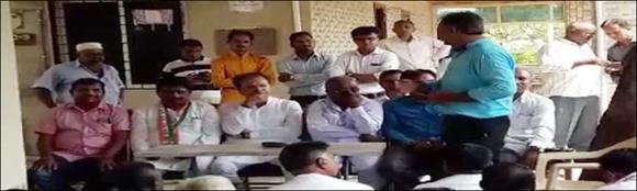વિરમગામ તાલુકા કોંગ્રેસના કાર્યકરોની કારોબારી બેઠક યોજાઈ :નેતાઓ અને મોટી સંખ્યામાં કાર્યકરો જોડાયા
