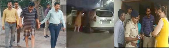 અમદાવાદ :GSTના આસિસ્ટન્ટ કમિશ્નરની પત્ની સાથે ધરપકડ ;નશાની હાલતમાં પોલીસ સાથે ઝપાઝપી કરી