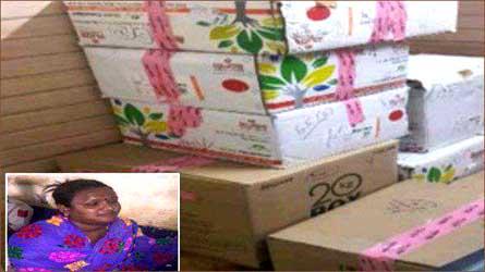 પાર્સલની આડમાં ઉદયપુરથી સુરત વિદેશી દારૂની હેરાફેરી :  દારૂની 900 બોટલ જપ્ત કરાઈ :ભારતી વાઘેલાની ધરપકડ