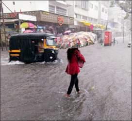 સૌરાષ્ટ્ર અને કચ્છમાં અતિભારે વરસાદ થયો : ખાંભા આઠ ઇંચ
