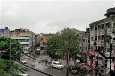 સુરતના ઉધના અને અઠવા ઝોનમાં એક ઇંચ વરસાદ : વાતાવરણમાં ઠંડક
