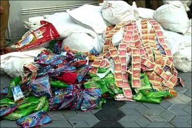 લોકડાઉન થતાં વ્યસનીઓ મોં માગ્યા દામ આપવા તૈયારઃ ગલીઓમાં કાળાબજારીઓની બેફામ લૂંટ