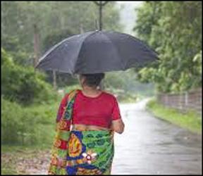 નિસર્ગ ઈફેક્ટ : કપરાડામાં સતત બીજા દિવસે પણ  વરસાદ ; ભારે પવન ફુંકાયો :મંડપ પવનમાં ઉડ્યો