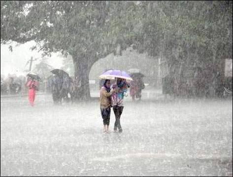 દેશભરમાં ચોમાસાની હલચલ શુક્રવારે ગુજરાતના ઉત્તર- પૂર્વ ભાગો- કચ્છમાં ભારે વરસાદ પડશે
