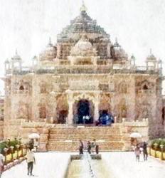 ૭ મહિના બાદ ગાંધીનગરનું સ્વામિનારાયણ અક્ષરધામ મંદિર દશેરાએ પુનઃ ખુલશે