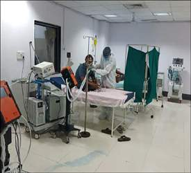 સુરતની સિવિલ હોસ્પિટલમાં ઓક્સિજનની તંગી દૂર કરવા માટે ઓક્સિજનના ઉપયોગ ઉપર ૧૦ ટકા કાપ મુકાયોઃ કરકસરપૂર્વક ઉપયોગ કરવા કલેકટરનો આદેશ