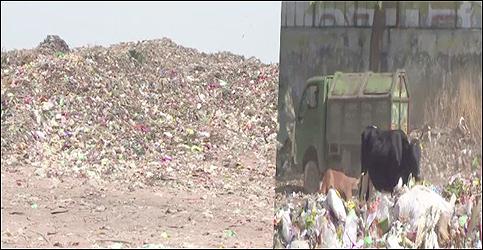 અમદાવાદ :પીરાણાનો કચરાનો મહાકાય ડુંગર :પ્રદૂષણના આંકને ઘટાડવામાં અંતરાયરૂપ