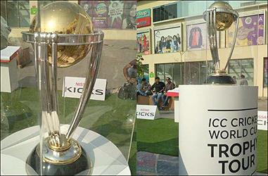 વર્લ્ડ કપ 2019ની ટ્રોફી અમદાવાદમાં પહોંચી; ભારતમાં તેનો આઠમો પડાવ :23 દિવસમાં નવ શહેરોમાં ફેરવાશે