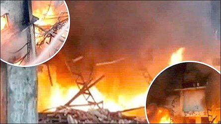 દાદરા નાગર હવેલીમાં કાપડ કંપનીમાં ભીષણ આગ ભભૂકી